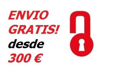 ENVIO GRATUITO PENINSULA A PARTIR DE 300€
